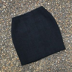 Vintage 1980s Chanel Boutique boucle skirt